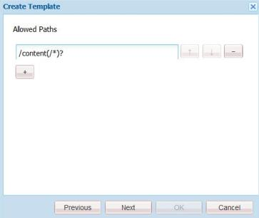 Create CQ Page Template