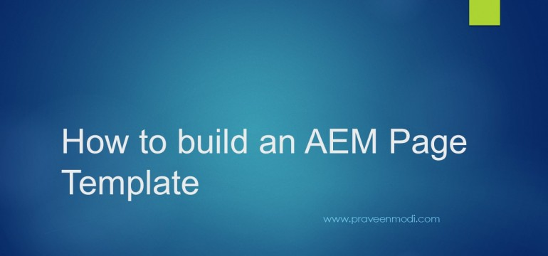 how-to-build-page-template-aem